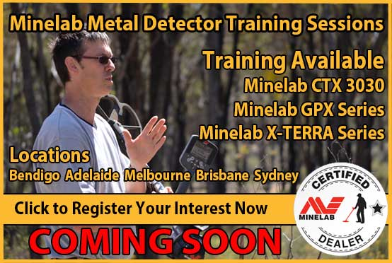 Miners Den Melbourne Metal Detector Training Sessions